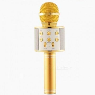 Караоке-микрофон HANDHELD/WSTER WS-858 Gold