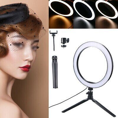 LED-Ring-Light-Dimmable-Light-with-Stand